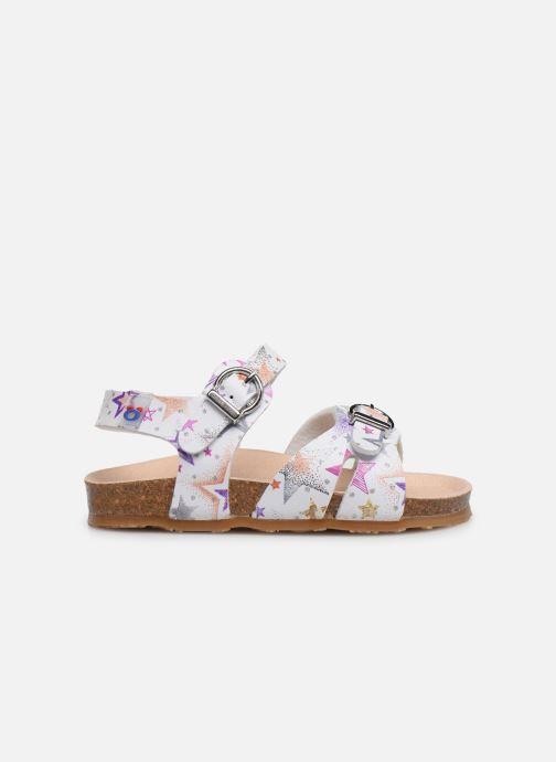 Sandales et nu-pieds Osito by Conguitos Santana Multicolore vue derrière