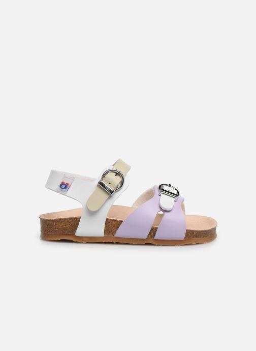 Sandales et nu-pieds Osito by Conguitos Victoria Multicolore vue derrière