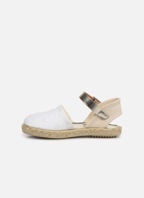 Espadrilles Osito by Conguitos Maribel Blanc vue face