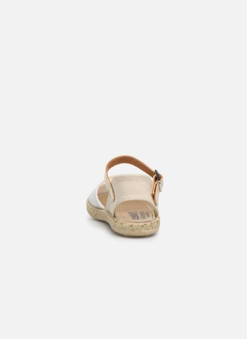 Scarpe di corda Osito by Conguitos Maribel Bianco immagine destra