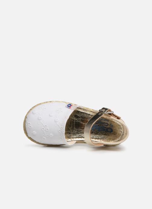 Scarpe di corda Osito by Conguitos Maribel Bianco immagine sinistra