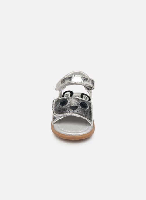 Sandales et nu-pieds Osito by Conguitos Dolores Argent vue portées chaussures