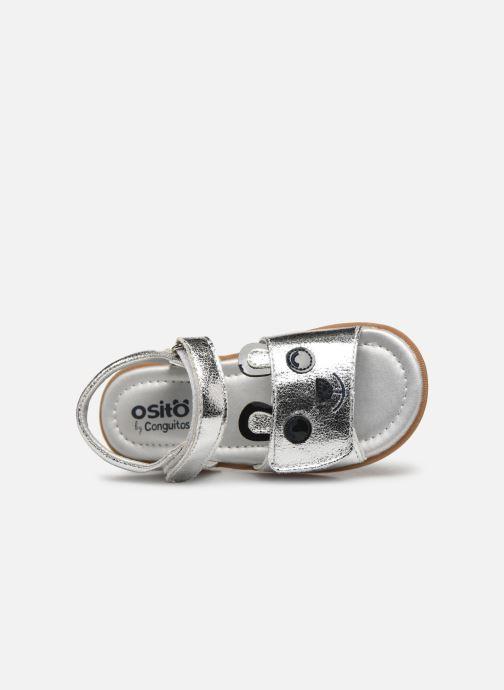 Sandales et nu-pieds Osito by Conguitos Dolores Argent vue gauche