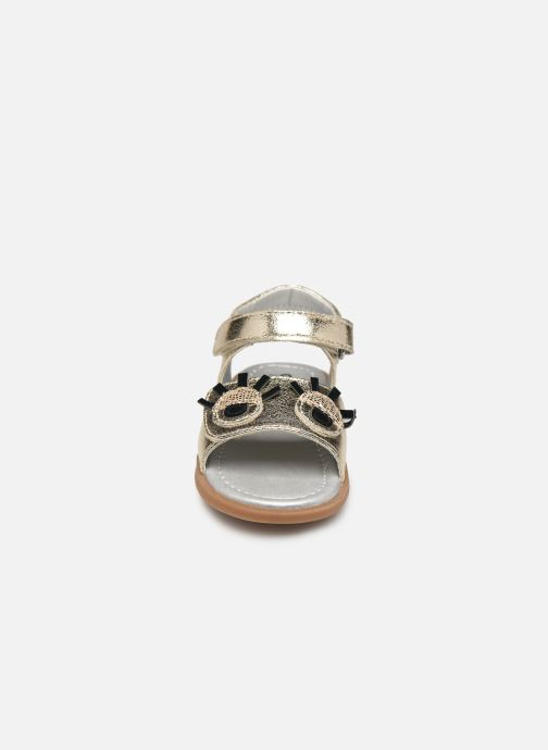 Sandals Osito by Conguitos Elvira Bronze and Gold model view
