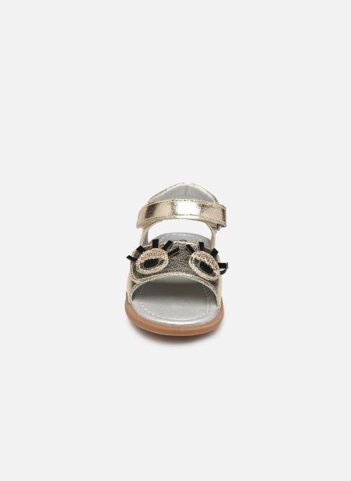 Sandales et nu-pieds Osito by Conguitos Elvira Or et bronze vue portées chaussures