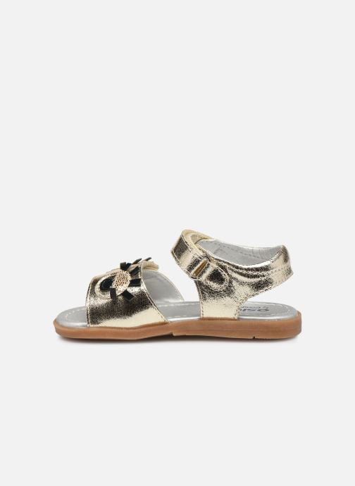 Sandals Osito by Conguitos Elvira Bronze and Gold front view