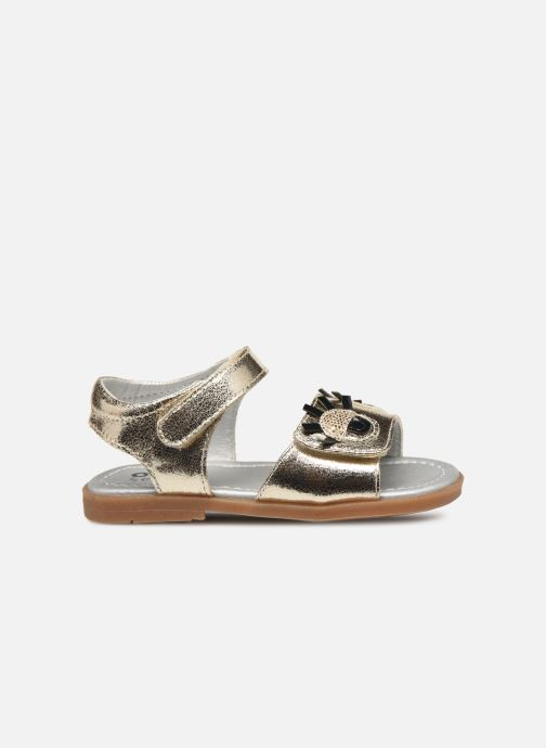 Sandals Osito by Conguitos Elvira Bronze and Gold back view