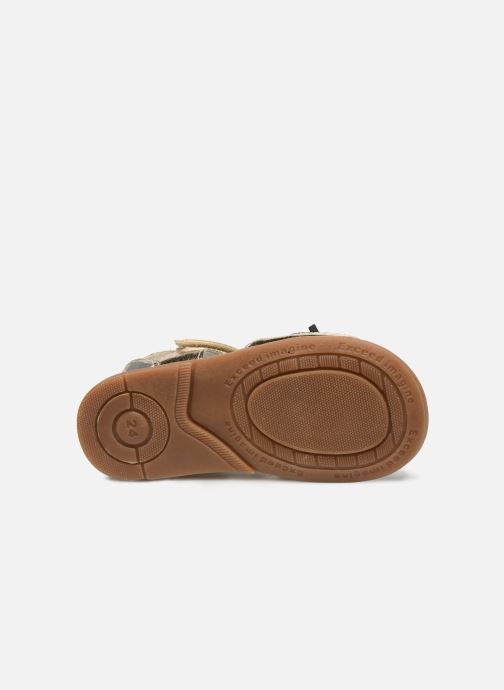 Sandals Osito by Conguitos Elvira Bronze and Gold view from above