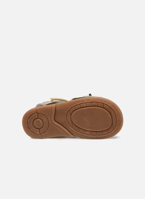 Sandales et nu-pieds Osito by Conguitos Elvira Or et bronze vue haut