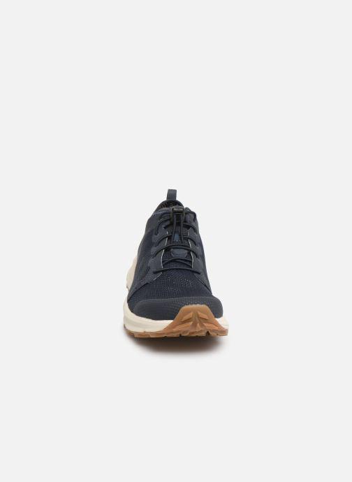 Chaussures de sport The North Face Litewave Flow Lace II M Bleu vue portées chaussures