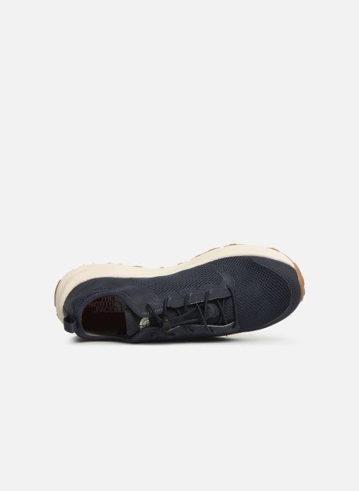 Chaussures de sport The North Face Litewave Flow Lace II M Bleu vue gauche