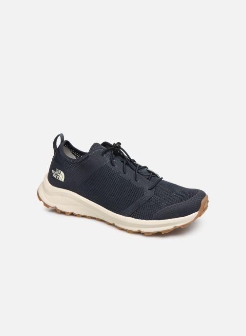 Chaussures de sport The North Face Litewave Flow Lace II M Bleu vue détail/paire