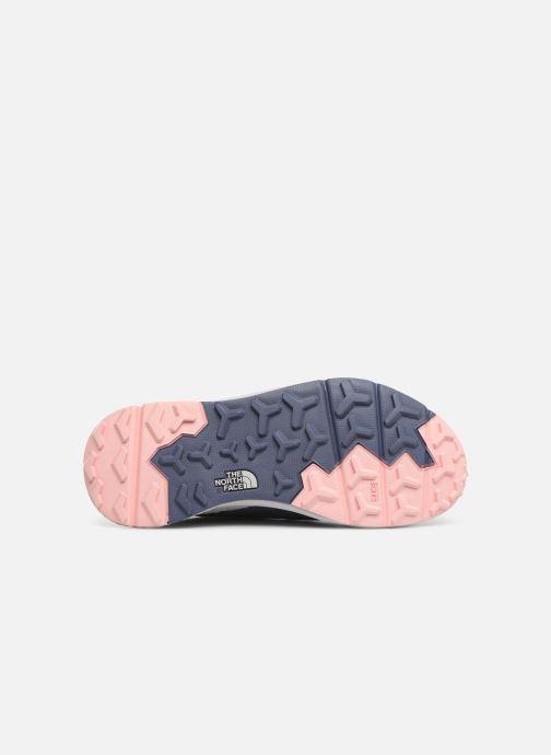 Chaussures de sport The North Face Rovereto W Gris vue haut