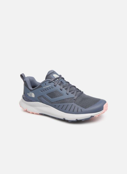 Chaussures de sport The North Face Rovereto W Gris vue détail/paire
