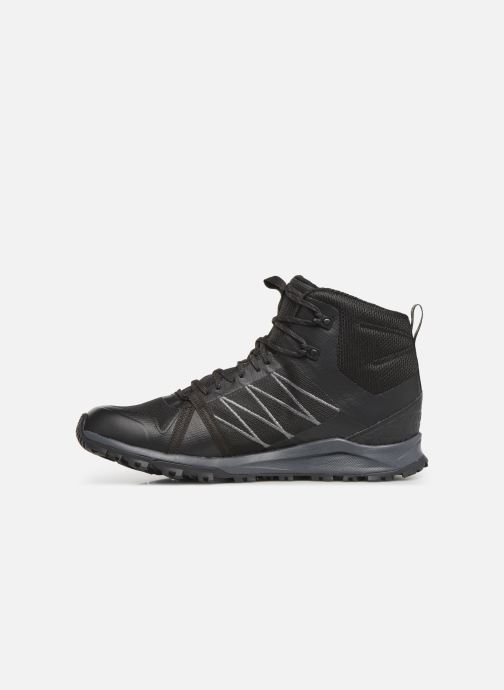 Chaussures de sport The North Face Litewave Fastpack II Mid GTX M Noir vue face