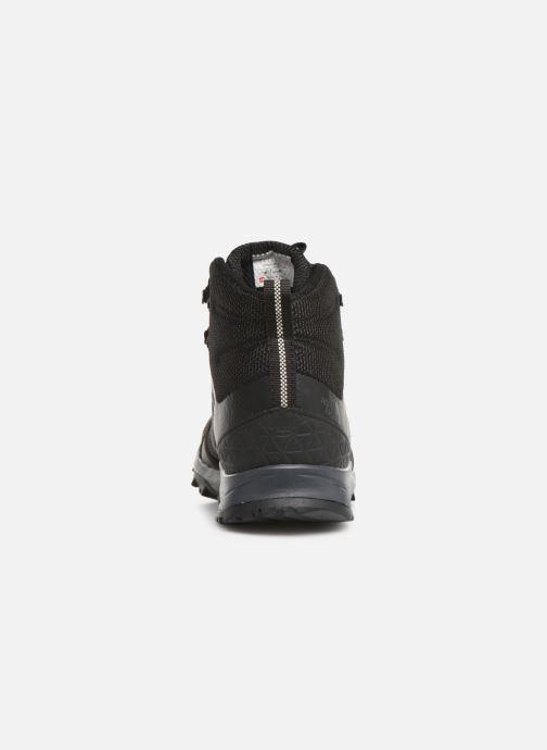 Chaussures de sport The North Face Litewave Fastpack II Mid GTX M Noir vue droite