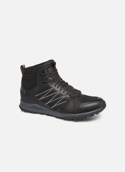 Chaussures de sport The North Face Litewave Fastpack II Mid GTX M Noir vue détail/paire