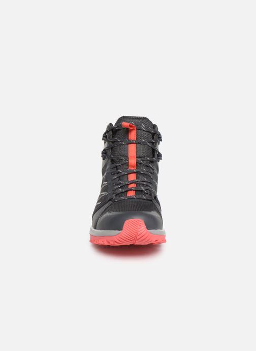 Chaussures de sport The North Face Litewave Fastpack II Mid GTX W Gris vue portées chaussures