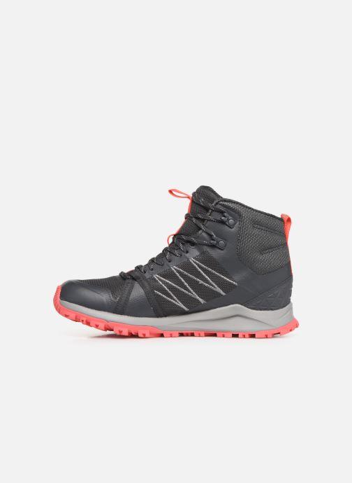 Chaussures de sport The North Face Litewave Fastpack II Mid GTX W Gris vue face