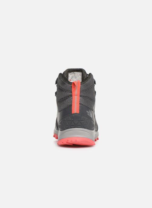 Chaussures de sport The North Face Litewave Fastpack II Mid GTX W Gris vue droite