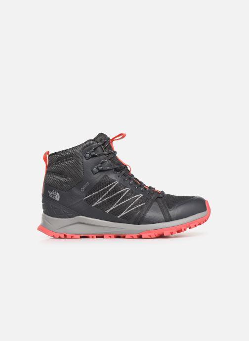 Chaussures de sport The North Face Litewave Fastpack II Mid GTX W Gris vue derrière
