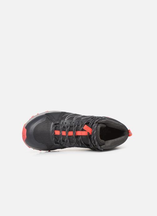 Chaussures de sport The North Face Litewave Fastpack II Mid GTX W Gris vue gauche