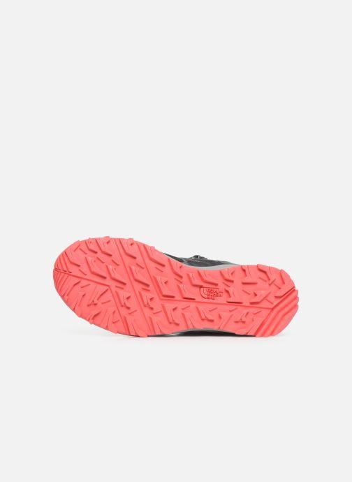 Chaussures de sport The North Face Litewave Fastpack II Mid GTX W Gris vue haut