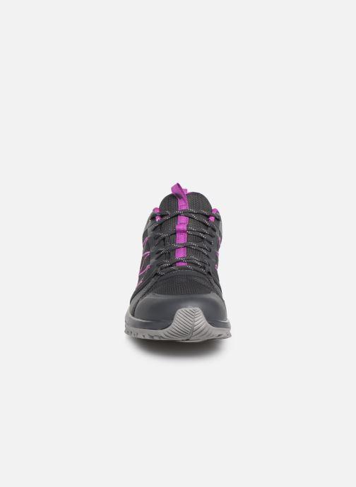 Chaussures de sport The North Face Litewave Fastpack II GTX W Gris vue portées chaussures