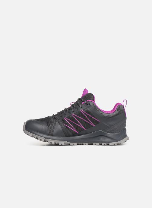Chaussures de sport The North Face Litewave Fastpack II GTX W Gris vue face