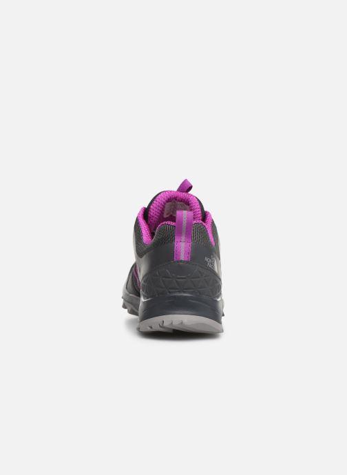 Chaussures de sport The North Face Litewave Fastpack II GTX W Gris vue droite