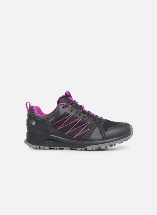 Chaussures de sport The North Face Litewave Fastpack II GTX W Gris vue derrière