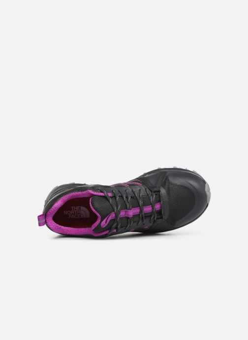 Zapatillas de deporte The North Face Litewave Fastpack II GTX W Gris vista lateral izquierda