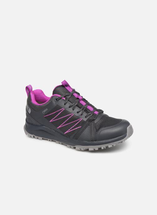 Sportssko The North Face Litewave Fastpack II GTX W Grå detaljeret billede af skoene