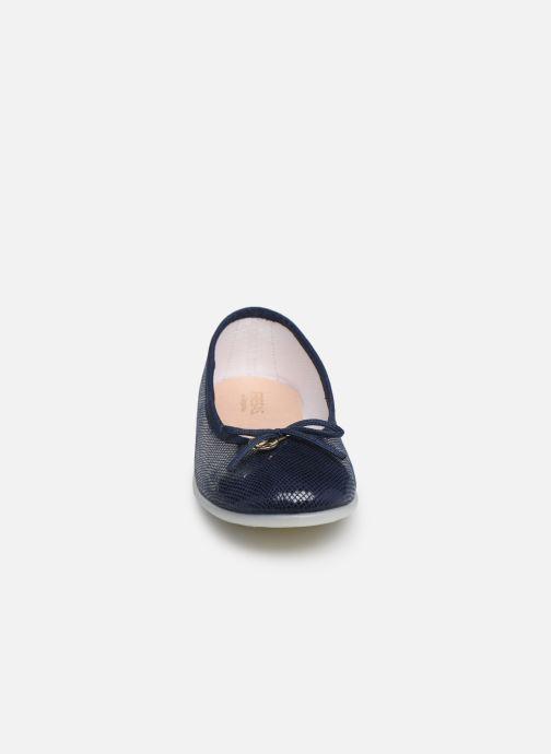 Ballerines Fresas by Conguitos Antonia Bleu vue portées chaussures