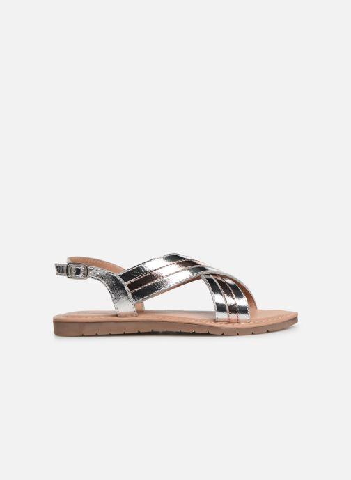 Sandales et nu-pieds Fresas by Conguitos Agata Argent vue derrière