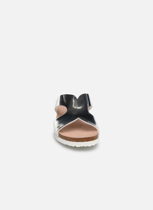 Sandales et nu-pieds Fresas by Conguitos Carmelita Argent vue portées chaussures