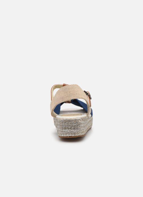 Scarpe di corda Fresas by Conguitos Consuelo Azzurro immagine destra