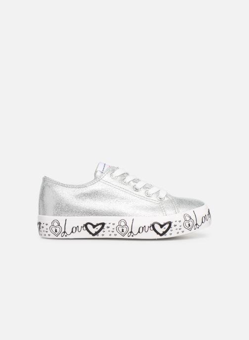 Sneaker Fresas by Conguitos Manola silber ansicht von hinten