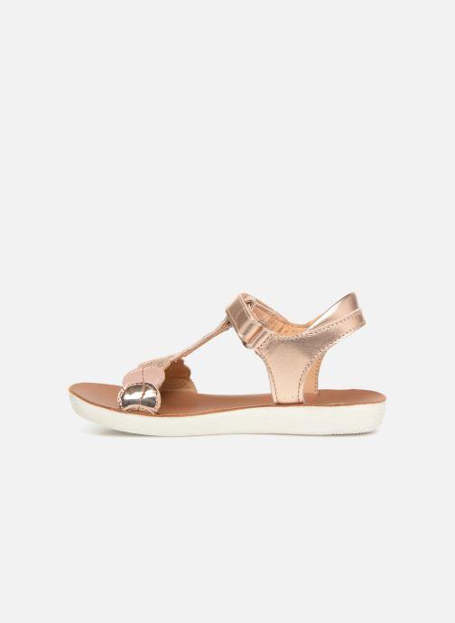 Sandales et nu-pieds Shoo Pom Goa Dots Argent vue face
