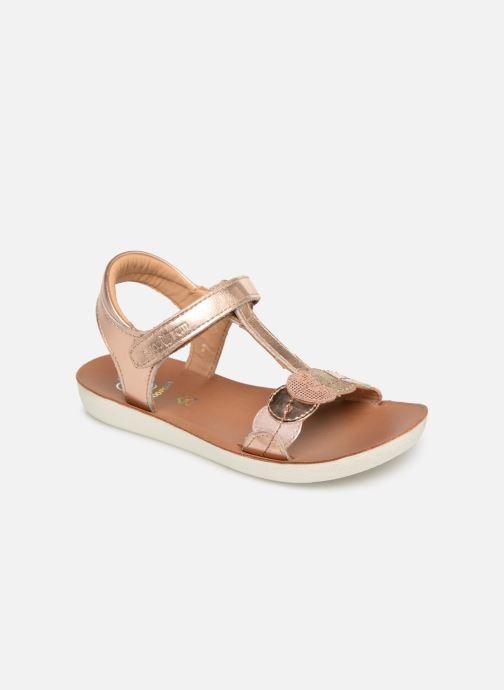 Sandales et nu-pieds Shoo Pom Goa Dots Argent vue détail/paire