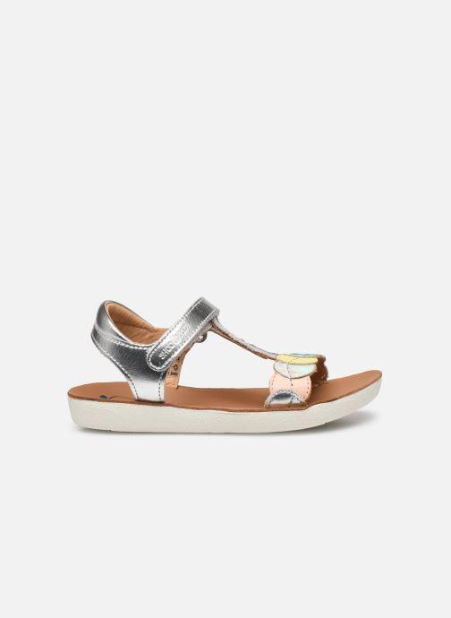 Sandales et nu-pieds Shoo Pom Goa Dots Argent vue derrière
