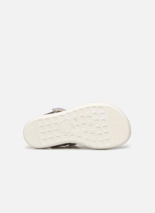 Sandales et nu-pieds Shoo Pom Goa Dots Argent vue haut