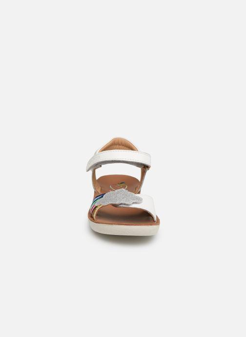 Nu Sandales Multi Goa pieds Pom Chez 353292 Shoo Et blanc naEYIWAq