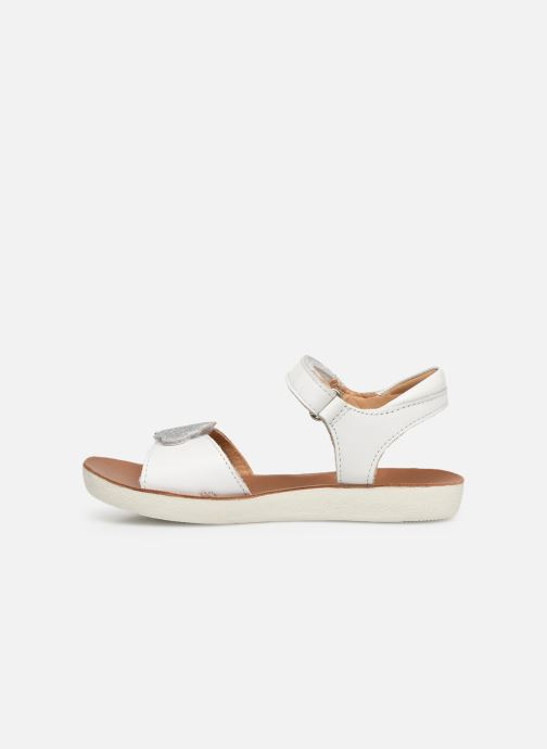 Sandals Shoo Pom Goa Multi White front view