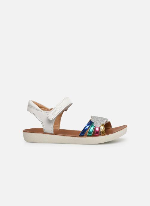 Sandali e scarpe aperte Shoo Pom Goa Multi Bianco immagine posteriore