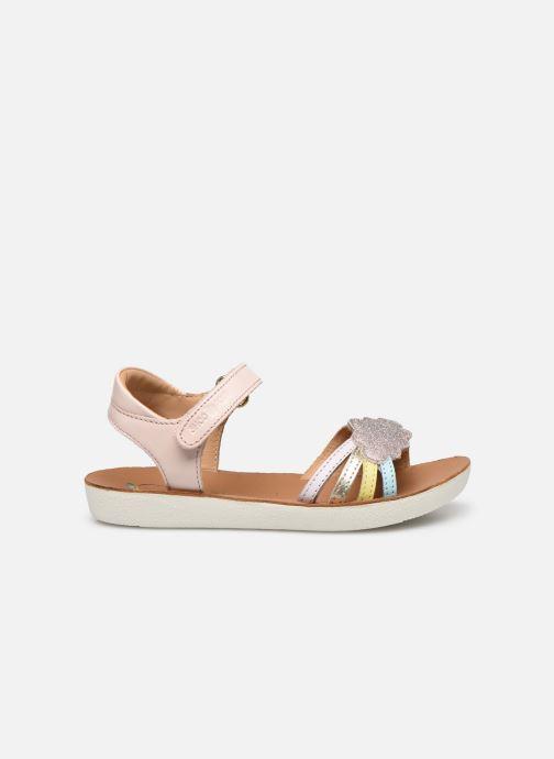 Sandali e scarpe aperte Shoo Pom Goa Multi Rosa immagine posteriore