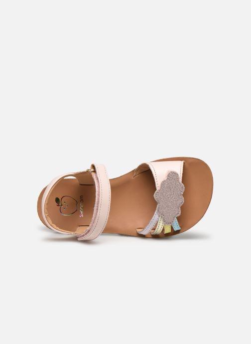 Sandali e scarpe aperte Shoo Pom Goa Multi Rosa immagine sinistra