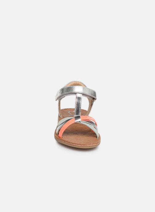 Sandales et nu-pieds Shoo Pom Happy Salome Argent vue portées chaussures
