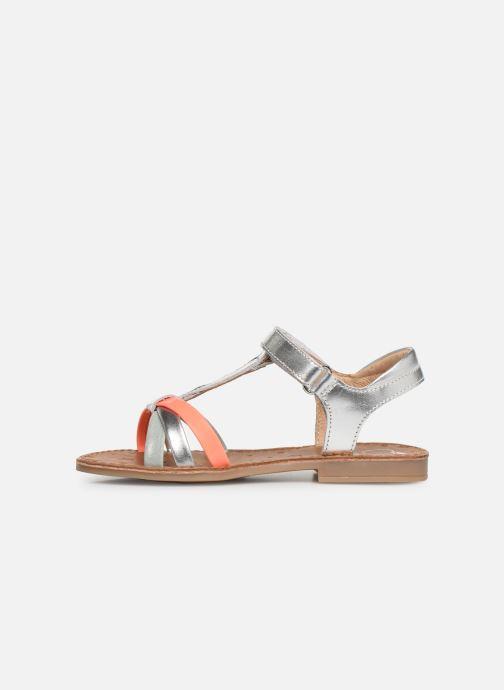 Sandales et nu-pieds Shoo Pom Happy Salome Argent vue face