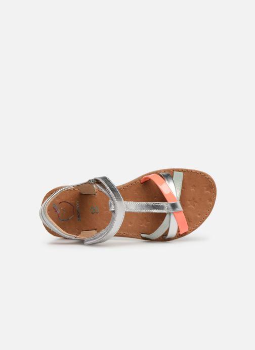 Sandales et nu-pieds Shoo Pom Happy Salome Argent vue gauche